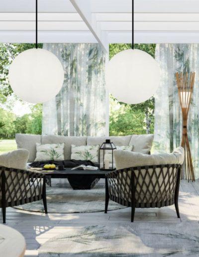Aussergewöhnliche Design Lampen für den Garten